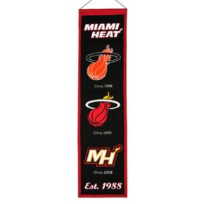 Miami Heat Heritage Banner