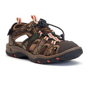 Itasca West Lake Boys Camouflage Sandals