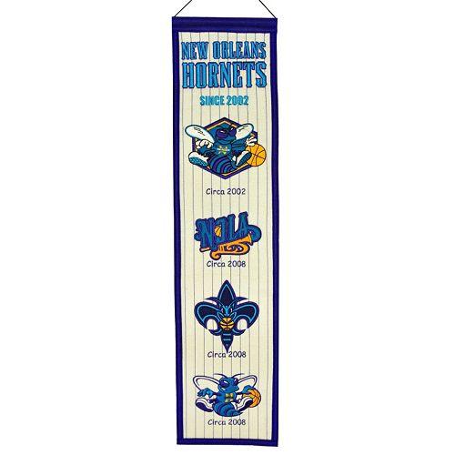 Charlotte Hornets Heritage Banner
