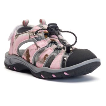 Itasca West Lake Girls' Camouflage Sandals