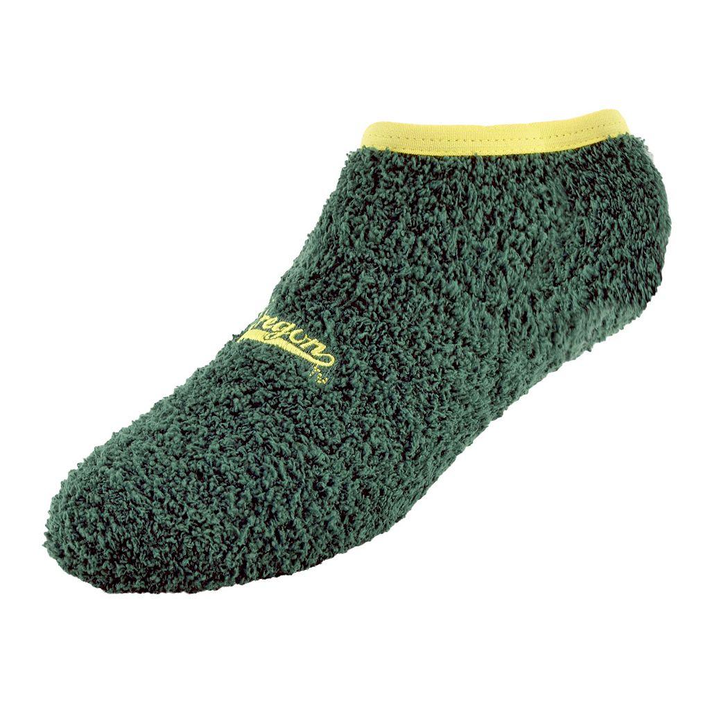 Women's Oregon Ducks Chenille Slipper Socks
