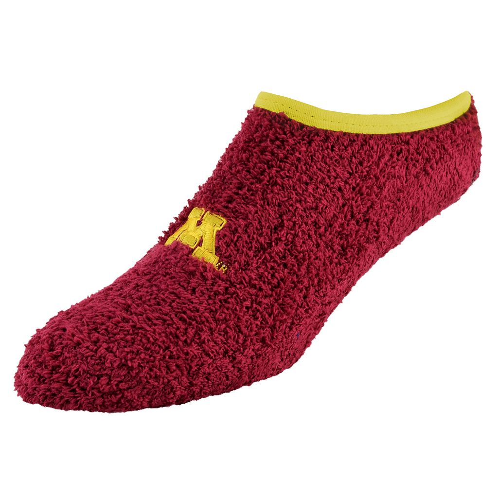 Women's Minnesota Golden Gophers Chenille Slipper Socks
