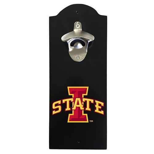 Iowa State Cyclones Wall-Mounted Bottle Opener