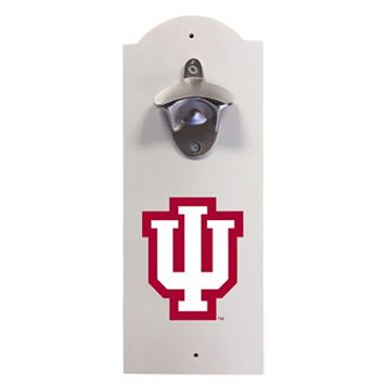Indiana Hoosiers Wall-Mounted Bottle Opener