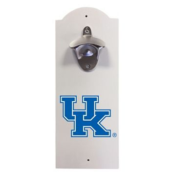 Kentucky Wildcats Wall-Mounted Bottle Opener