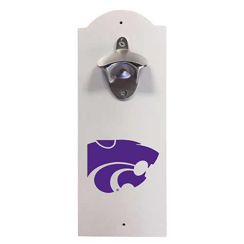 Kansas State Wildcats Wall-Mounted Bottle Opener