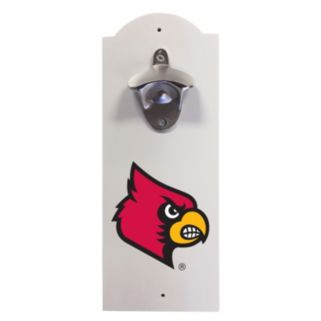 Louisville Cardinals Wall-Mounted Bottle Opener