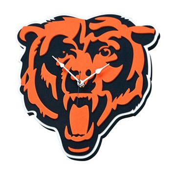 Chicago Bears 3D Foam Wall Clock