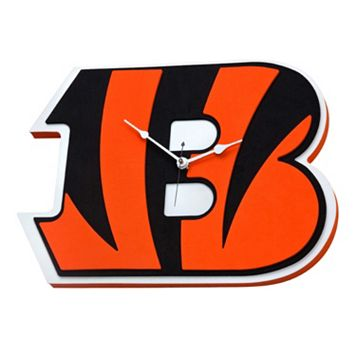 Cincinnati Bengals 3D Foam Wall Clock