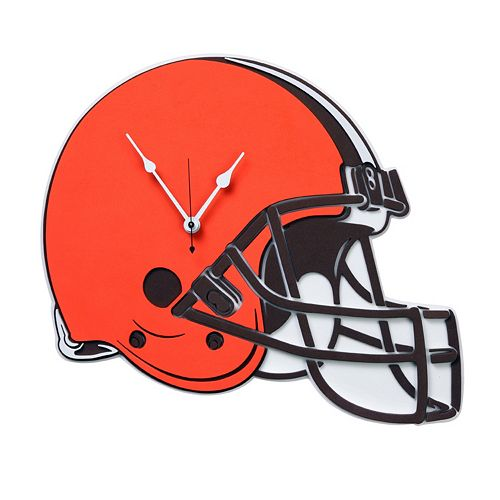 Cleveland Browns 3D Foam Wall Clock