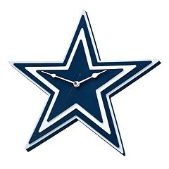 Dallas Cowboys 3D Foam Wall Clock
