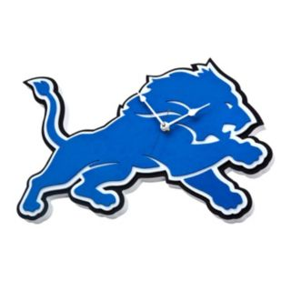 Detroit Lions 3D Foam Wall Clock