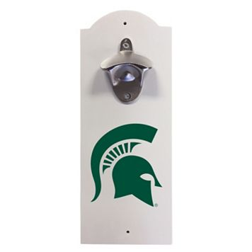 Michigan State Spartans Wall-Mounted Bottle Opener