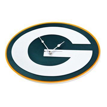 Green Bay Packers 3D Foam Wall Clock