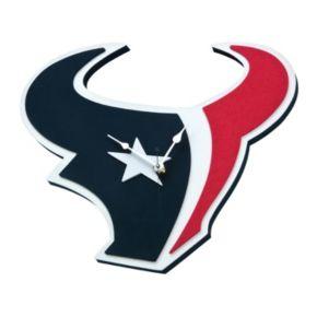 Houston Texans 3D Foam Wall Clock