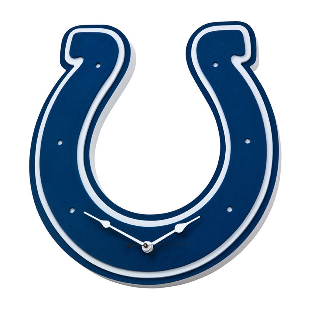 Indianapolis Colts 3D Foam Wall Clock