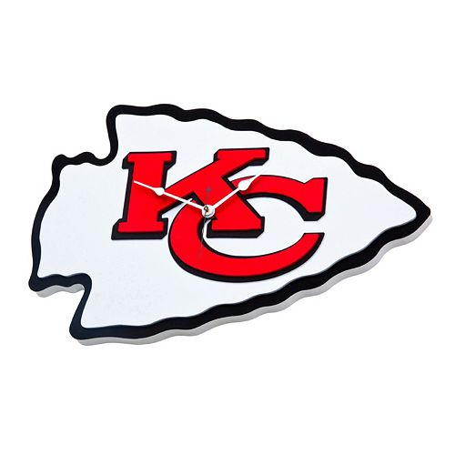 Kansas City Chiefs 3D Foam Wall Clock
