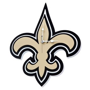 New Orleans Saints 3D Foam Wall Clock