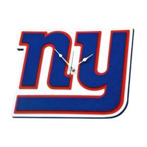 New York Giants 3D Foam Wall Clock