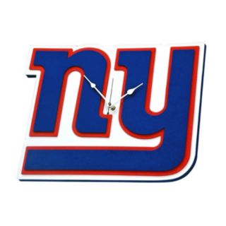 New York Giants 3D Foam Wall Clock