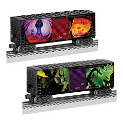 Disney's Villains 2-pk. Hi-Cube O Gauge Boxcars by Lionel Trains