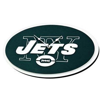 New York Jets 3D Foam Wall Clock