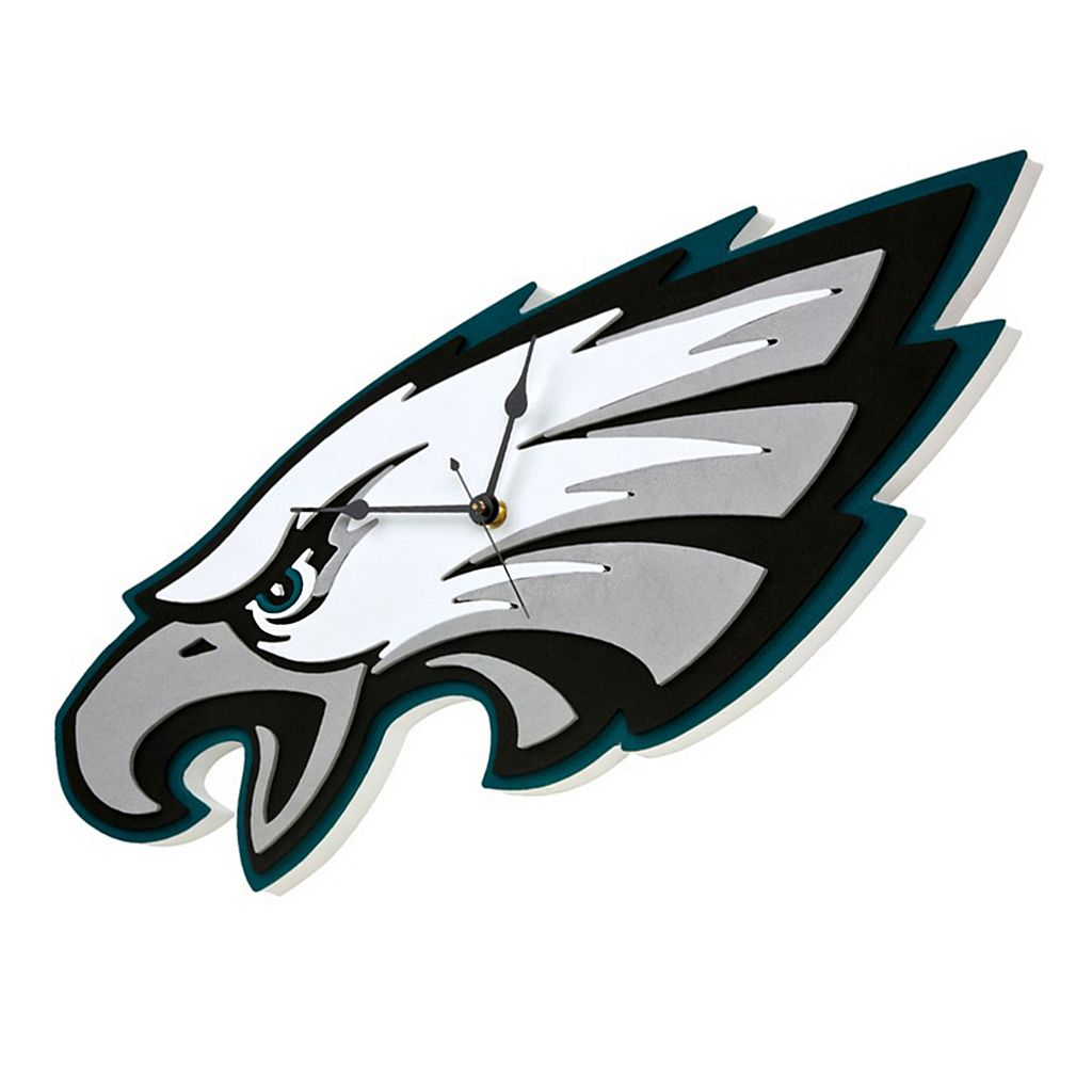 Philadelphia Eagles 3D Foam Wall Clock