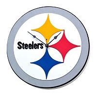 Pittsburgh Steelers 3D Foam Wall Clock