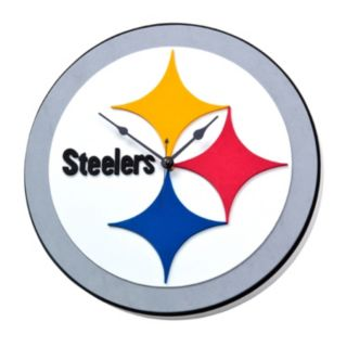Pittsburgh Steelers 3D Foam Wall Clock