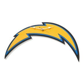 San Diego Chargers 3D Foam Wall Clock