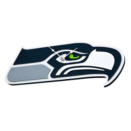 Seattle Seahawks 3D Foam Wall Clock