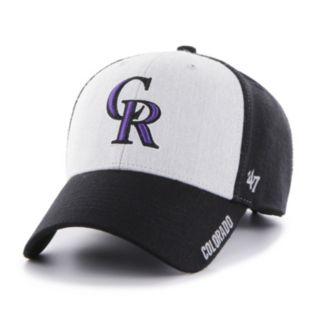 Adult '47 Brand Colorado Rockies Beta MVP Cap