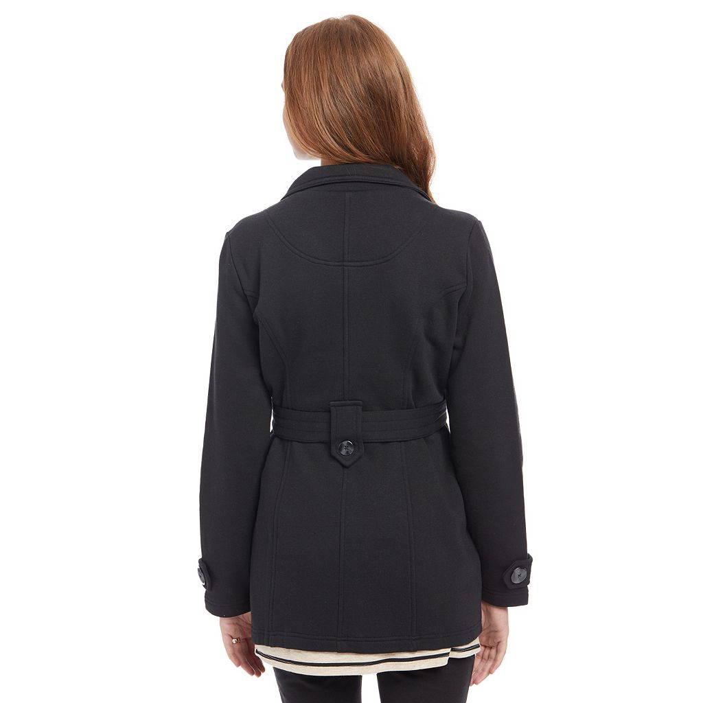 Maternity Oh Baby by Motherhood™ French Terry Peacoat
