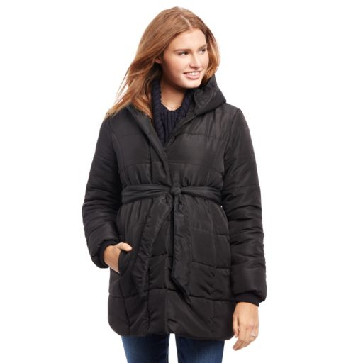 Maternity Oh Baby by Motherhood™ Quilted Puffer Jacket