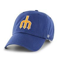 Adult '47 Brand Seattle Mariners Cooperstown Clean Up Cap