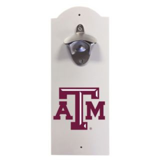 Texas A&M Aggies Wall-Mounted Bottle Opener