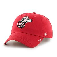Women's '47 Brand Cincinnati Reds Miata Clean Up Cap