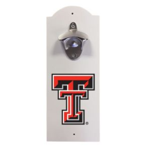 Texas Tech Red Raiders Wall-Mounted Bottle Opener