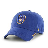 Women's '47 Brand Milwaukee Brewers Miata Clean Up Cap