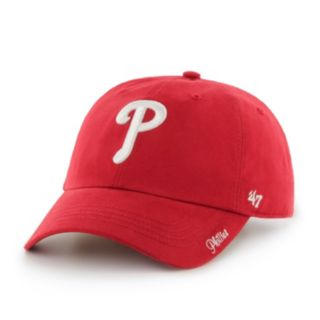 Women's '47 Brand Philadelphia Phillies Miata Clean Up Cap