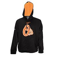 Men's Stitches Baltimore Orioles Embossed Performance Fleece Hoodie