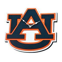 Auburn Tigers 3D Foam Wall Clock