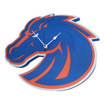 Boise State Broncos 3D Foam Wall Clock