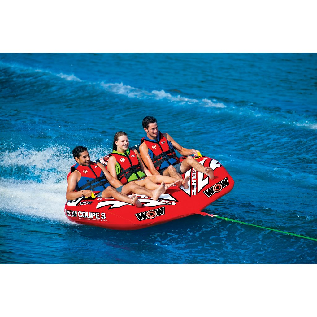 WOW Sports 3-Person Coupe Cockpit Towable Water Float