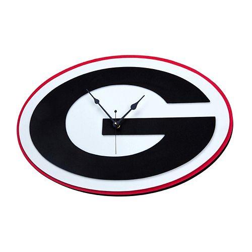 Georgia Bulldogs 3D Foam Wall Clock