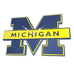 Michigan Wolverines 3D Foam Wall Clock