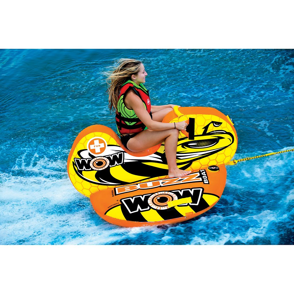 Wow Watersports Sports Buzz Boat Water Float