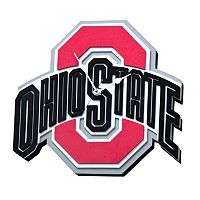 Ohio State Buckeyes 3D Foam Wall Clock