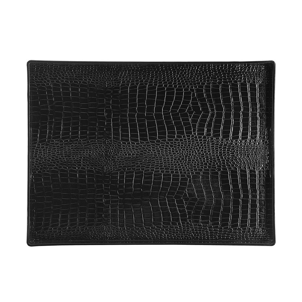Elements Crocodile 19-in. Serving Tray