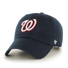 a268215c216 Adult  47 Brand Washington Nationals Road Clean Up Cap